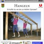 Stationstafel Hangeln