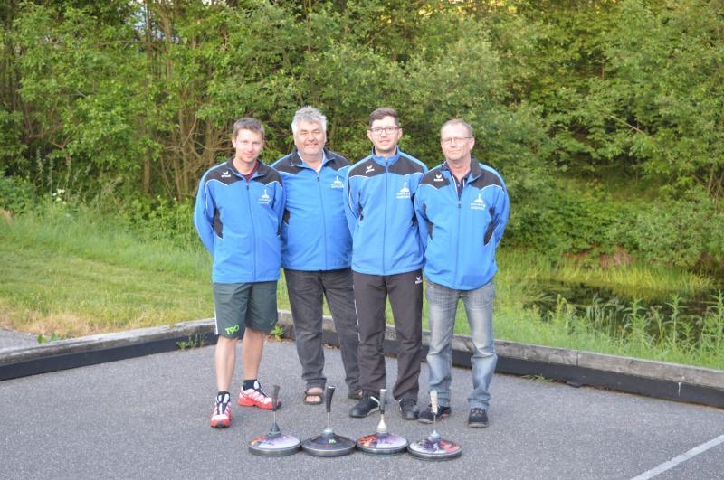Eidenberg 3 (nicht im Bild sind Mannschaftsführer Didi Weixlbaumer, Michael Madlmeir, Peter Kogler)