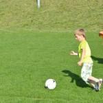 4 fußballbegeisterte Talente
