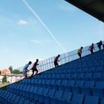 24 Samstagnachmittag - die gefürchteten Treppenläufe standen an