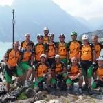 35 Lago di Garda-   kniend  Andi, George, Manfred, Johnny -   stehend     Andi, Joe, Monika, Peter, Klemens, Alex, Hansbert, Karl, Müchi, Heimo