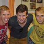 drei Schützen - vier Tore (Benji, Jaxi, Mani)