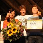 60 Peter mit den schnellsten Gemeindebürgern Monika und Günther