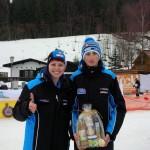 Niklas Peil mit Anna Hufnagel (Borg-Trainer)