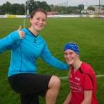 04 Torfrau Lisa und Goalgetterin Elke