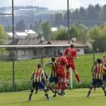 11 Hami ein Stockwerk höher - das 1-0 für Eidenberg