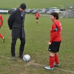 07 Ehrenanstoß durch Rudi - danke für das Matchsponsoring