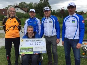 09 die Bike Charity wurde damit zu einem großen Erfolg