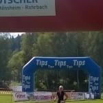09 Silvia beim Zieleinlauf