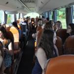 gemeinsame Busfahrt