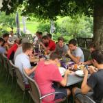 05 gemeinsames Mittagessen im Eidenberger´s