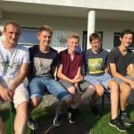 06 Pippo, Dominik, Klemens, Kilian, Tobi