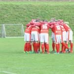 09 bereits vor dem Spiel ein Bild mit Symbolcharakter - Aiglstorfer gegen Eidenberg