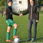Danke an die Matchsponsorin - Dr. Bettina Mertl-Sterlini