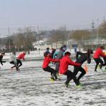 3_das erste Training (noch) im Schnee