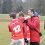 03 Spiel gegen Lichtenberg - es ist kalt, wir sind heiß und gewinnen 2-0