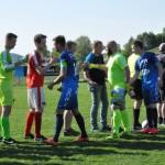 07 Spiel gegen Oberneukirchen - es war knapp und eng, aber am Ende gewinnen wir am Gwölb-Wochenende mit 1-0