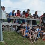 22 unsere Juniors als lautstarke Fans