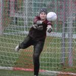 Simone stark am Ball