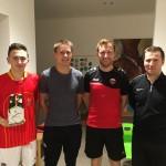 05 die Sieger Hermes, Dominik, Martin und Klinsi